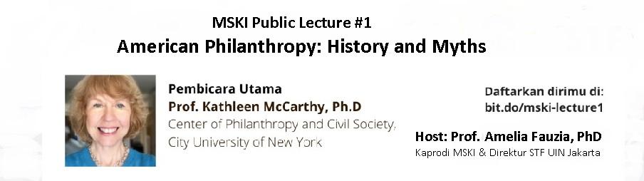 MSKI Public Lecture #1