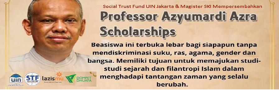 Beasiswa Profesor Azyumardi Azra